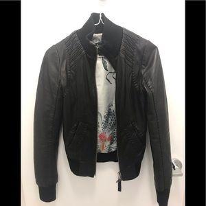 Aritzia Mackage lamb leather jerry jacket XXS